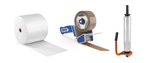 Pásky, výplňový materiál, fólie
