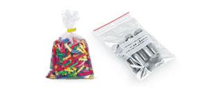 Sáčky, pytle, plastové nádoby