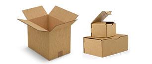 Kartonové krabice, kontejnery