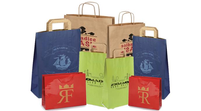Papírové tašky Rajapack