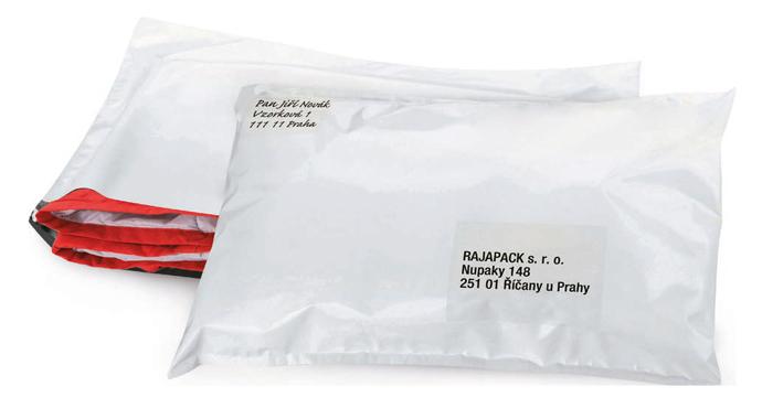 Plastové zásilkové obálky Rajapack