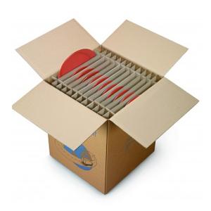 Separační mřížky ve stěhovací krabici Rajapack